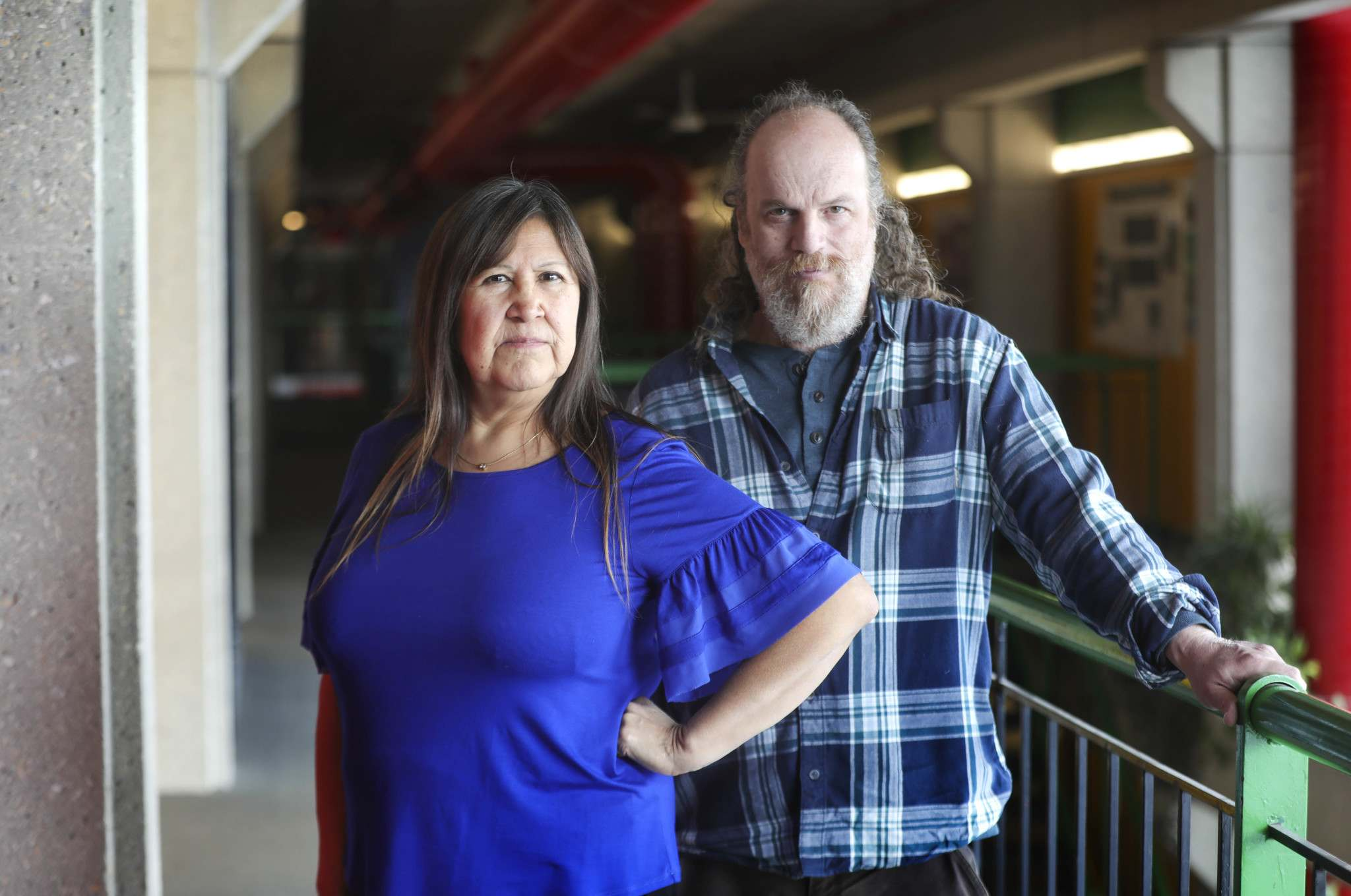 RUTH BONNEVILLE / WINNIPEG FREE PRESS</p><p>Researchers Dr. Myrle Ballard (left) Dr. Stephane McLaclan are researching infectious diseases on Indigenous communities, looking at the coronavirus threat and what lessons Manitoba has learned since the H1N1 swine flu spread in the province's north a decade ago. </p>