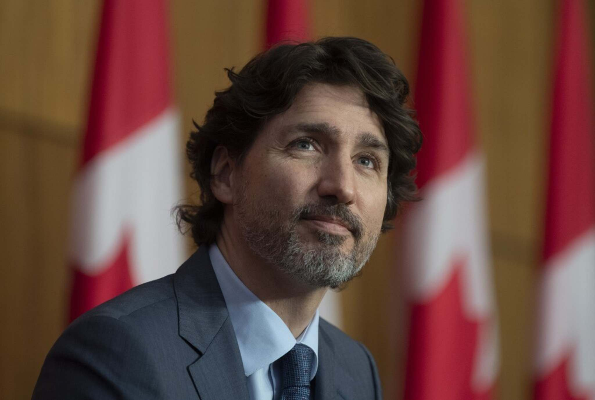 Prime Minister Justin Trudeau was just over a year into his first term when he allegedly made the 'I'm not your banker' remark to Manitoba Premier Brian Pallister. (Adrian Wyld / The Canadian Press)</p>