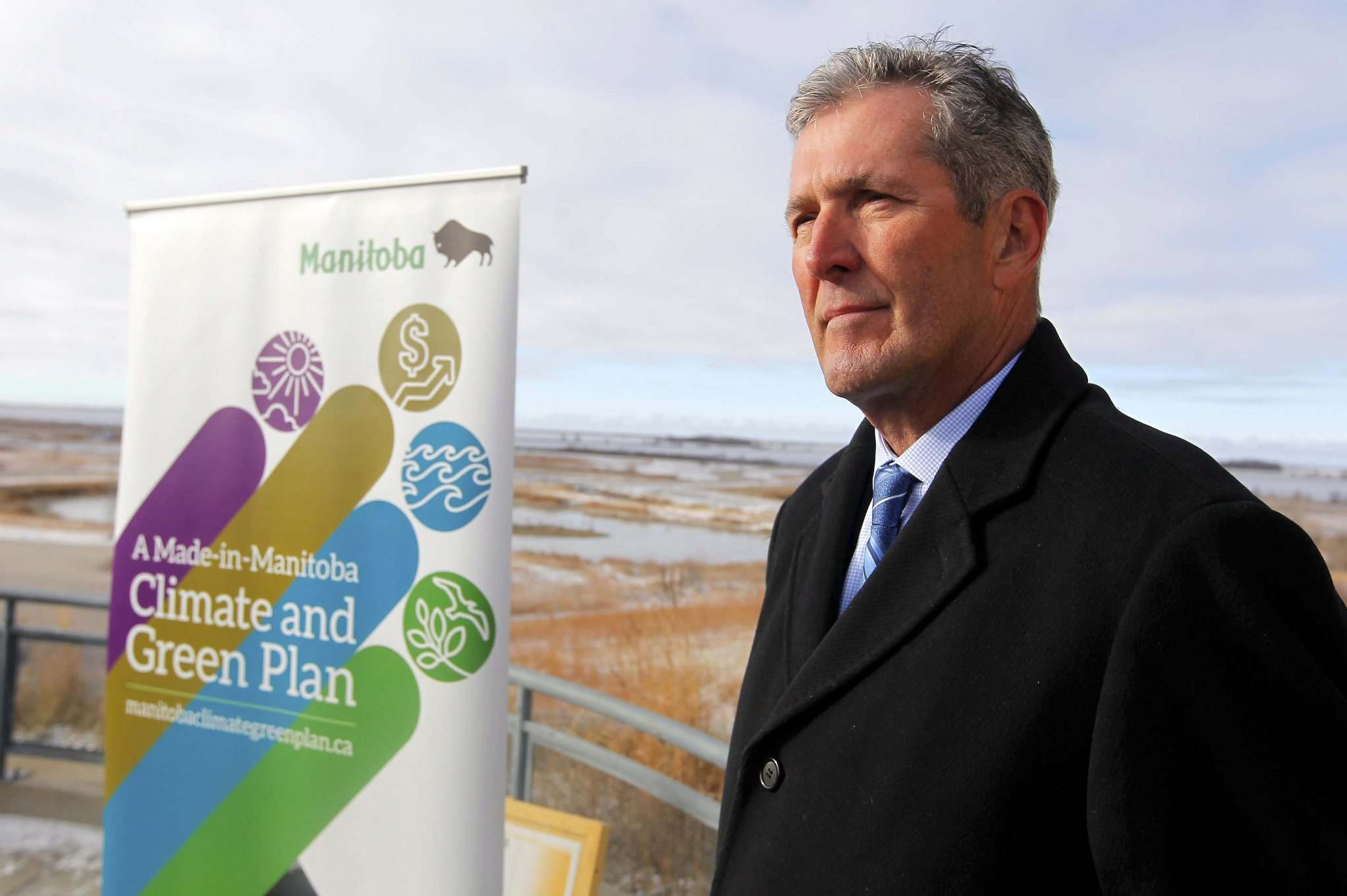BORIS MINKEVICH / WINNIPEG FREE PRESS FILES</p><p>Premier Brian Pallister's 2017 unveiling of the Made-in-Manitoba Climate and Green Plan left most environmental groups a bit perplexed.</p>
