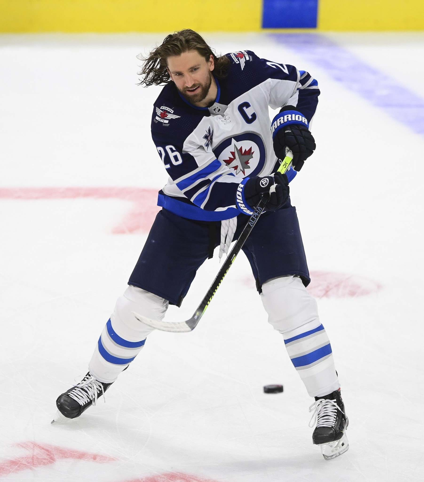 Captain Blake Wheeler is the last guy who would ever put the cart before the horse.