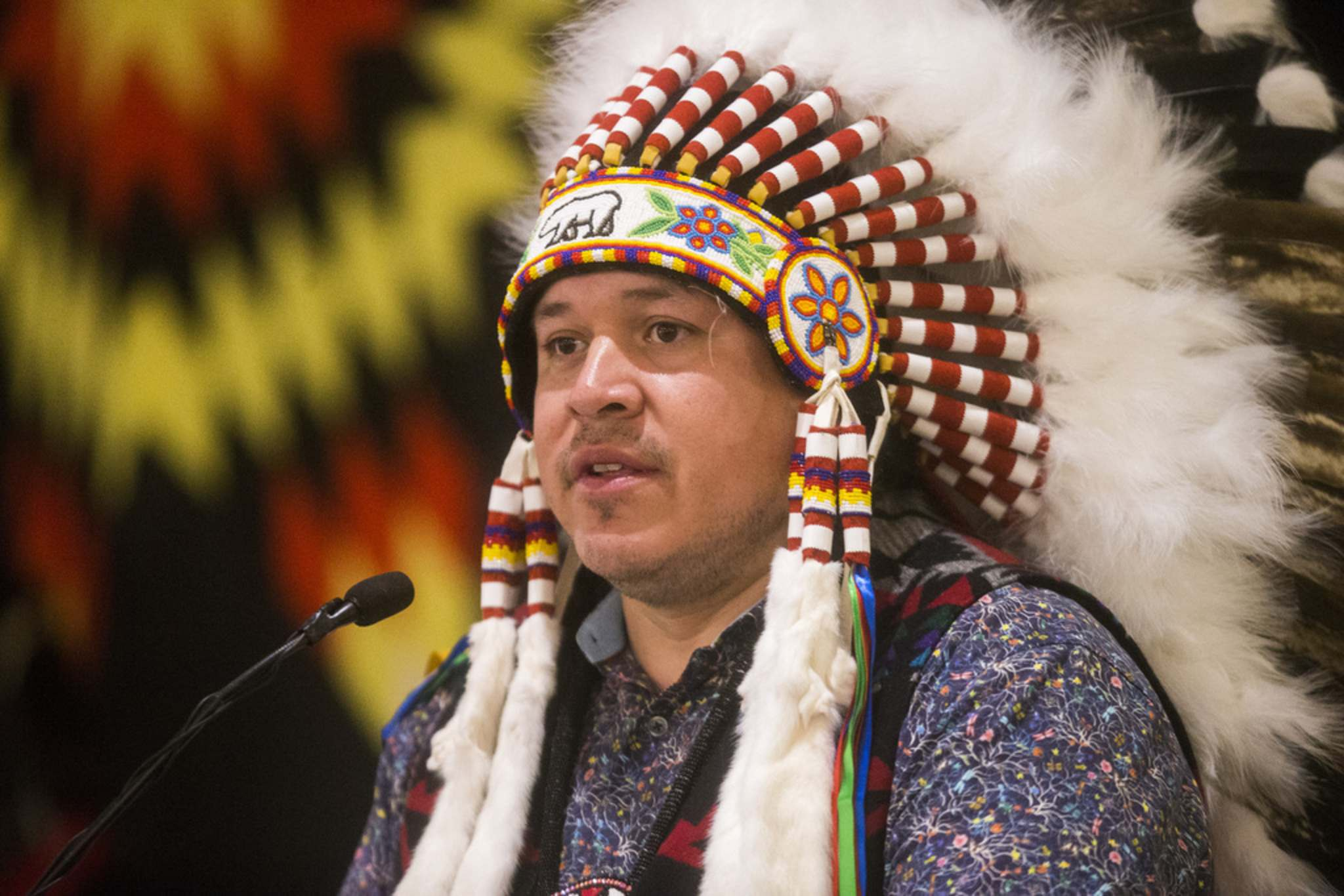 "MIKAELA MACKENZIE / WINNIPEG FREE PRESS FILES</p><p>Southern Chiefs' Organization Grand Chief Jerry Daniels: ""It's a strategy, obviously, to silence the voices and the views of First Nations people.""</p>"