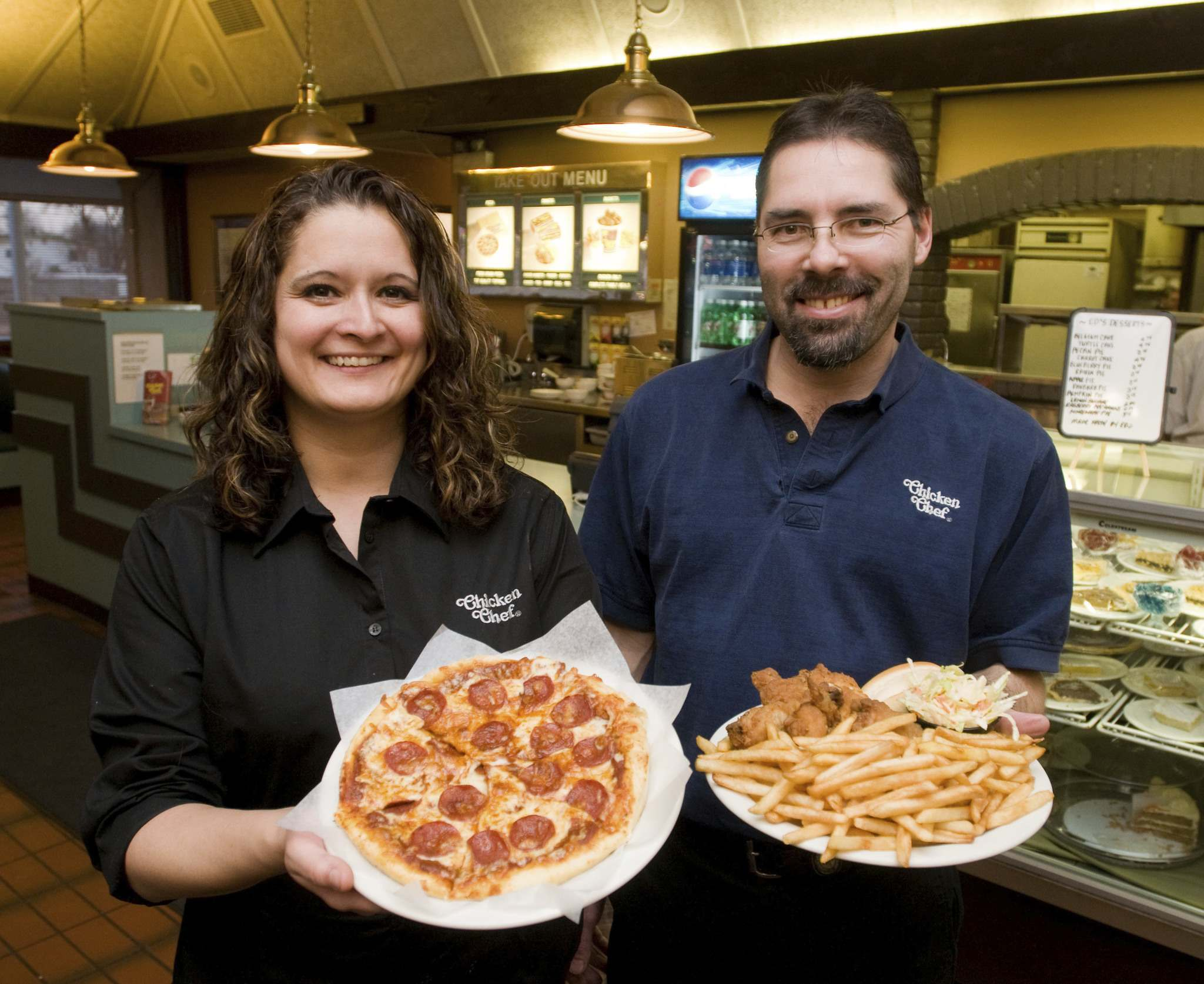 Public health officials haven't asked Chicken Chef owner Lori Lucas (left) for contact-tracing information, either.