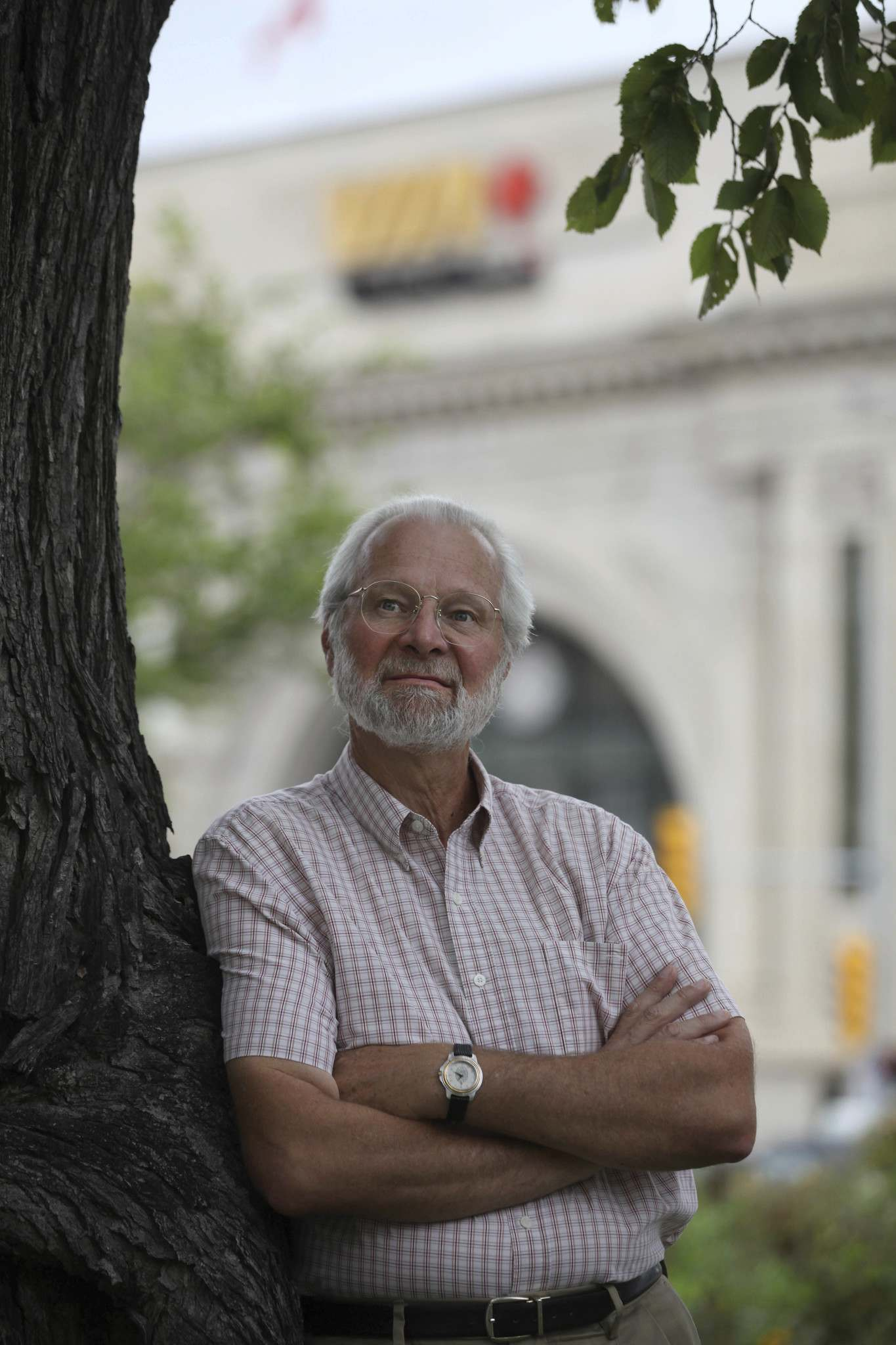 RUTH BONNEVILLE / WINNIPEG FREE PRESS FILES  Barry Prentice, logistics expert with the University of Manitoba, says the proposed merger would mean a straight path to Mexico City for Manitoba exports.