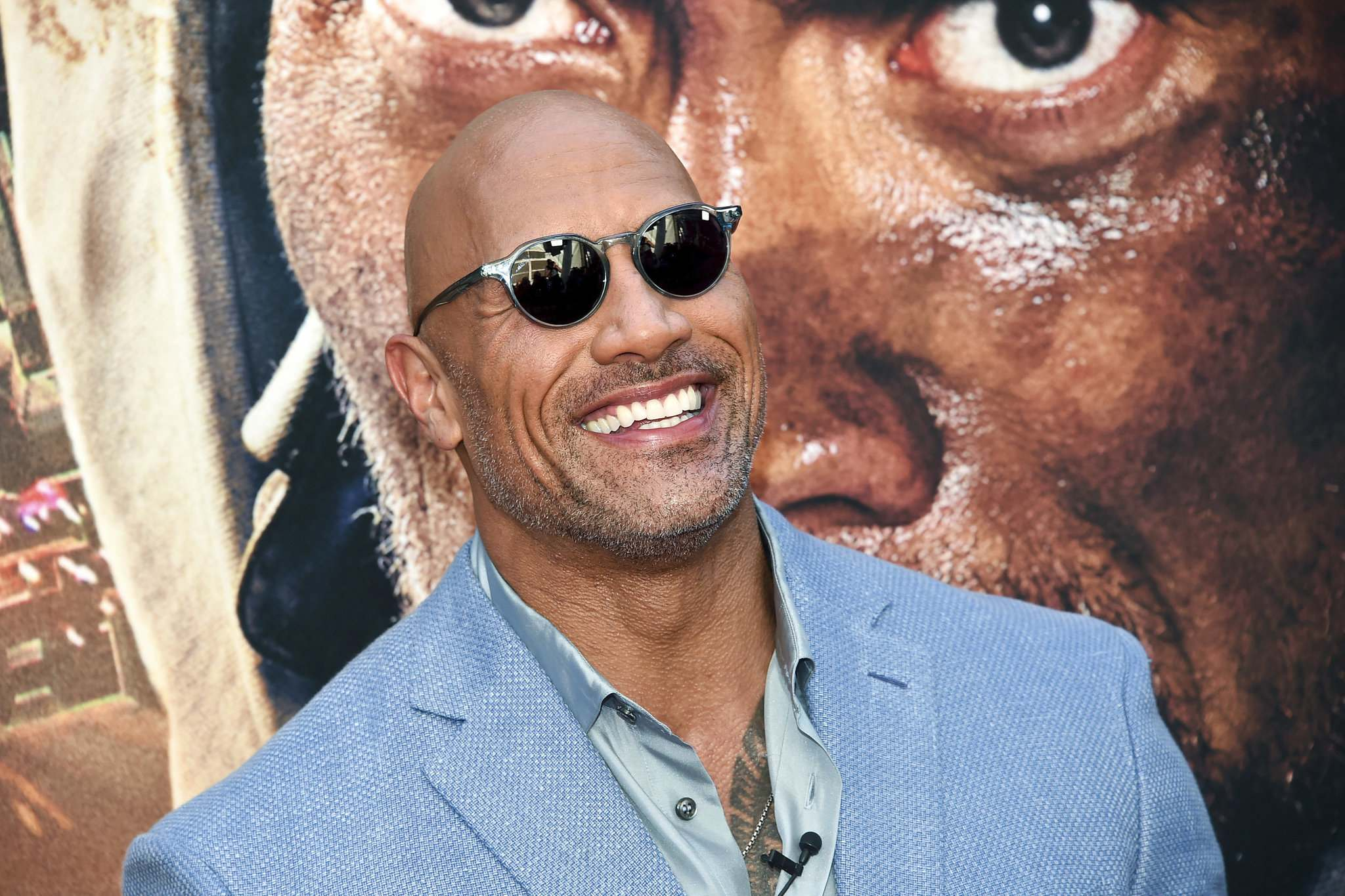Dwayne (The Rock) Johnson fronts the XFL with his ex-wife and business partner, Dany Garcia, and they're looking to join forces with the Canadian Football League. (File)</p></p>
