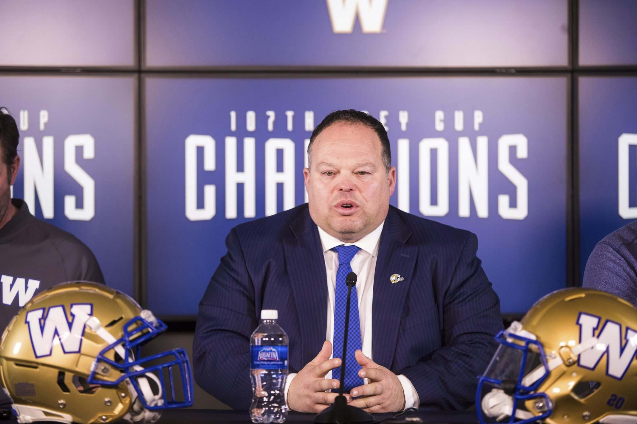 MIKAELA MACKENZIE / WINNIPEG FREE PRESS files </p><p>Blue Bombers president and CEO Wade Miller.</p>