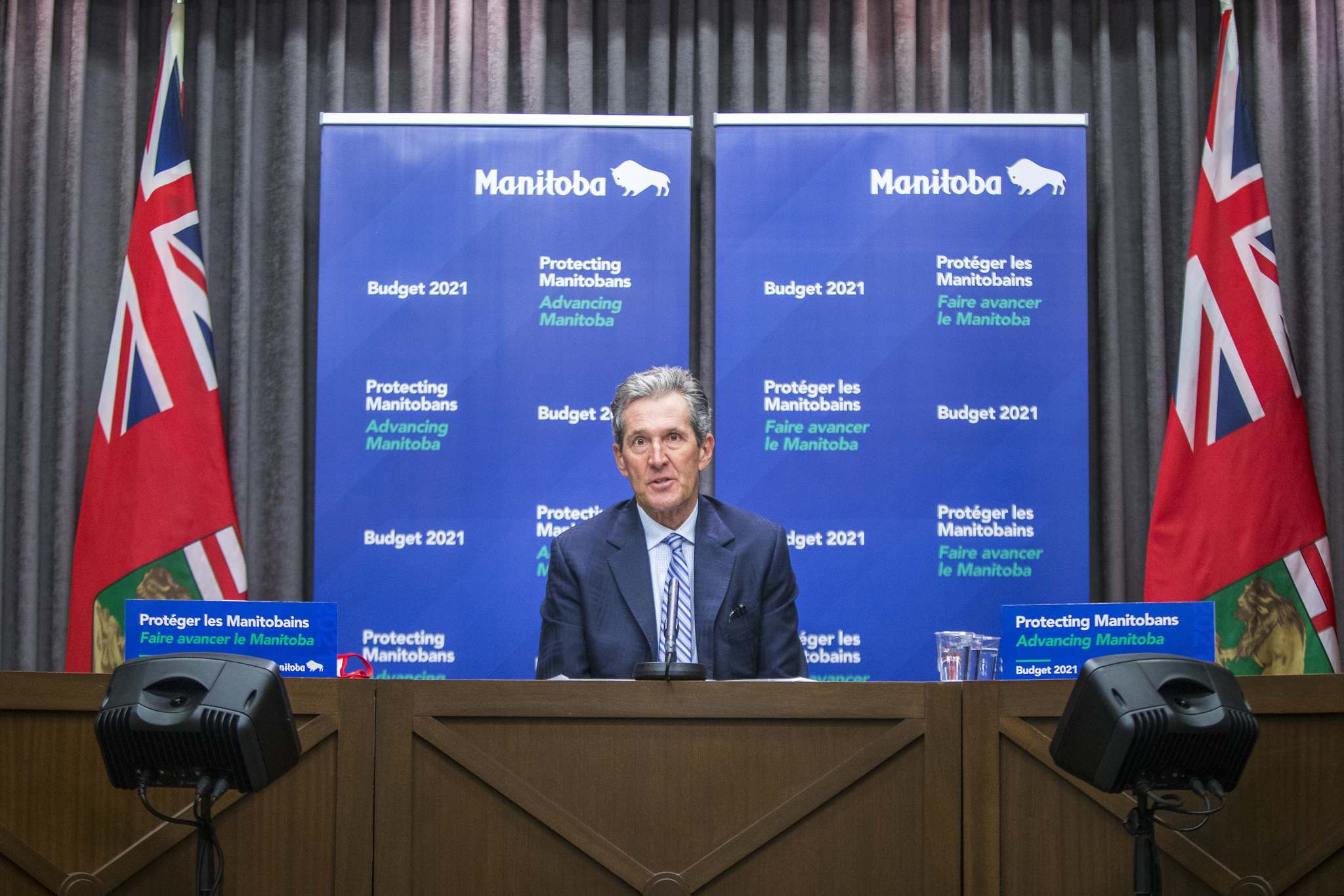 Premier Brian Pallister's demeanour and personal response to pandemic events likely caused him to fall out of favour with many voters. In public, the premier has been abrasive and critical of others, lashing out at the federal government over vaccine supplies and at some Manitobans for failing to observe public health guidelines. (Mikaela MacKenzie / Winnipeg Free Press)