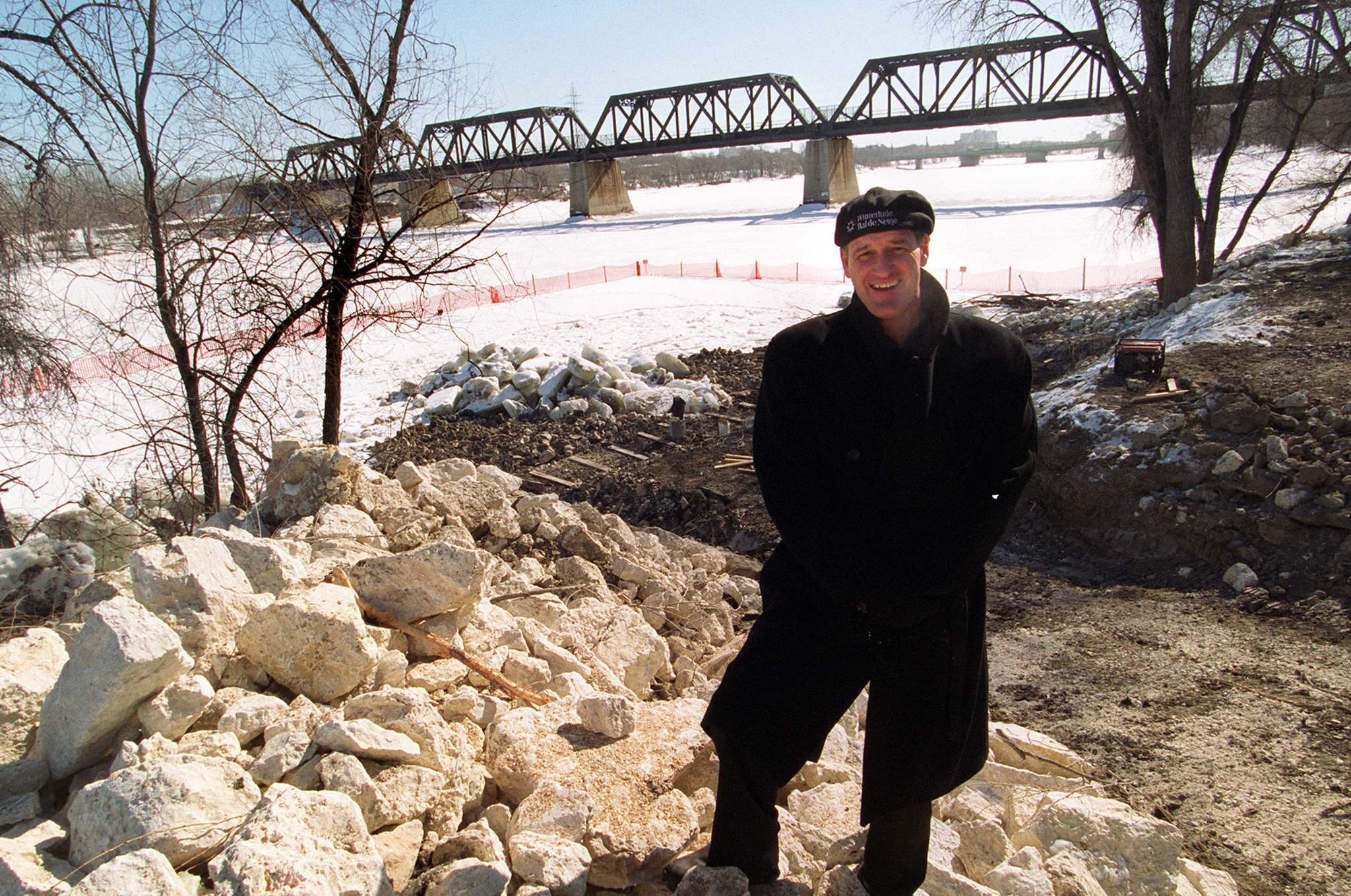 WAYNE GLOWACKI/WINNIPEG FREE PRESS files</p><p>In 2001, Paul Jordan stood at the site where the new Steve Juba Dock (along Steve Juba Park) would be built.</p>