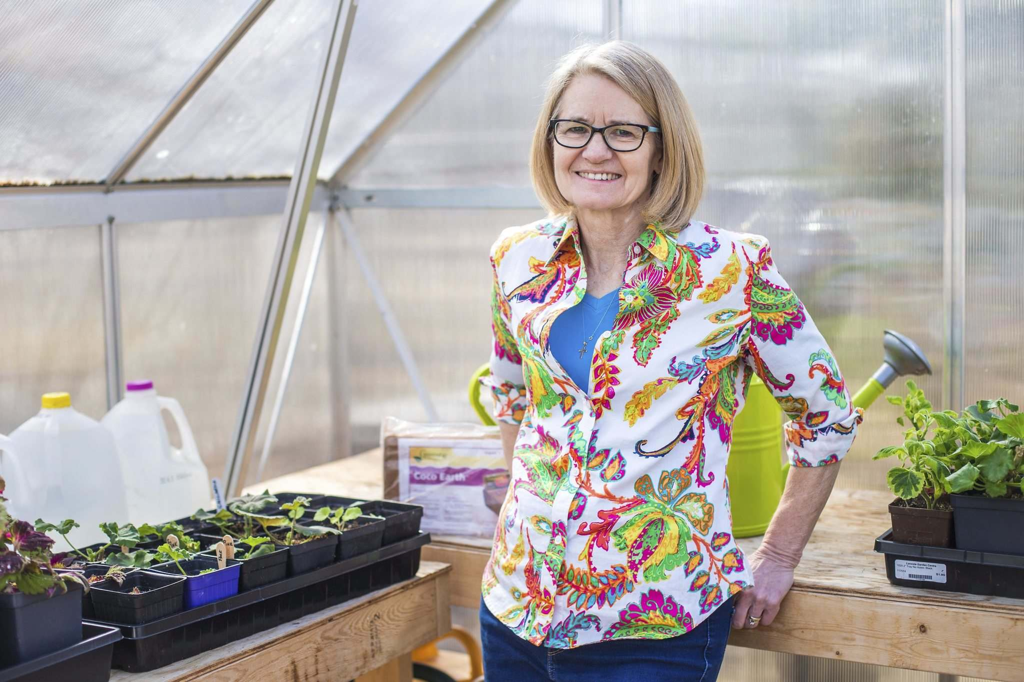 As gardener Janet Epp preps spring seeds she finds herself contemplating a new — hopefully more sustainable — way of doing things.