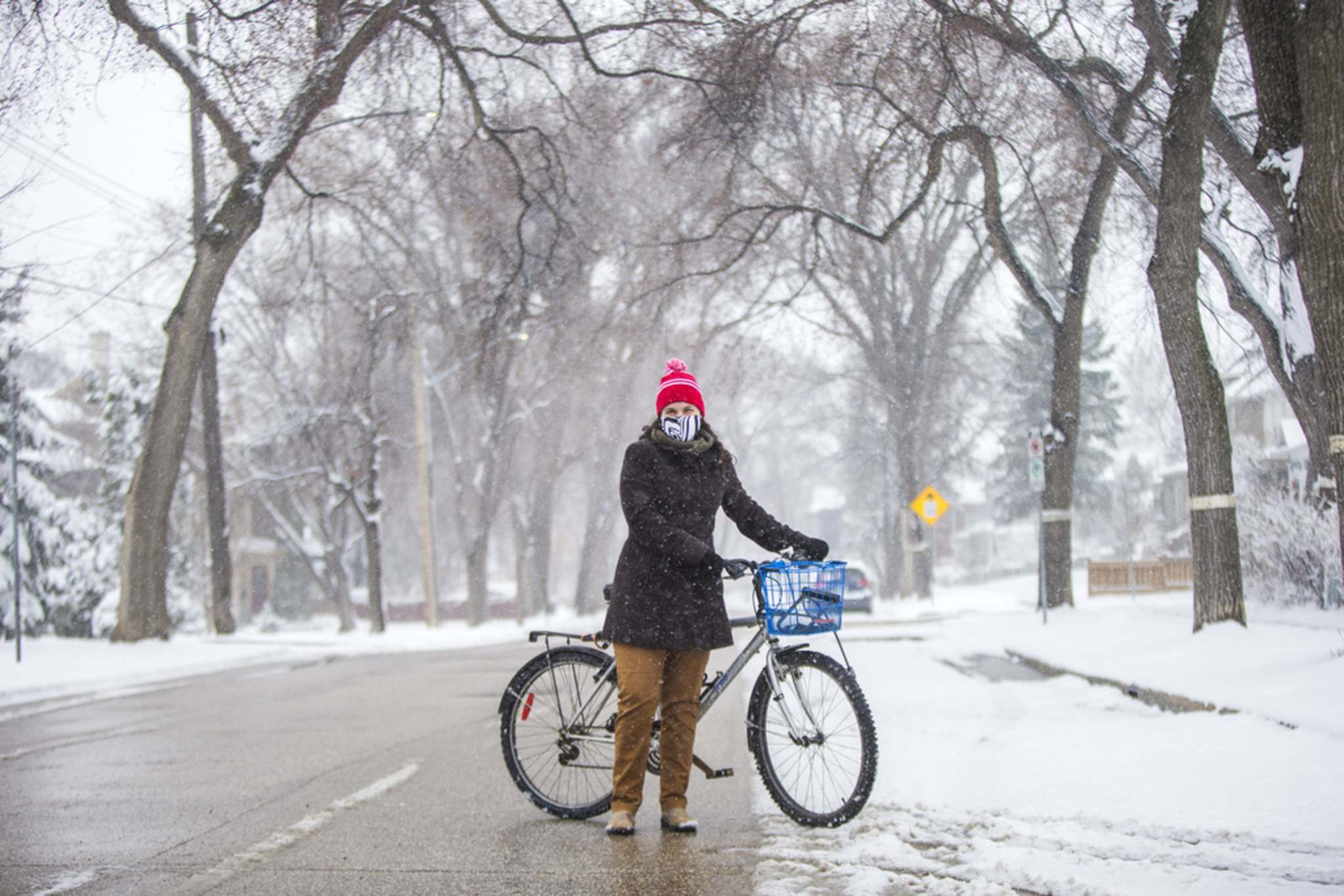 MIKAELA MACKENZIE / WINNIPEG FREE PRESS</p><p>Mel Marginet, co-ordinator with the Green Action Centre's Sustainable transportation team, feels the new call to pilot open streets just for cyclists, and not pedestrians, ignores the need for pedestrians to have safe travel space and is a disappointment after both cyclists and pedestrians used the steets last year.</p>