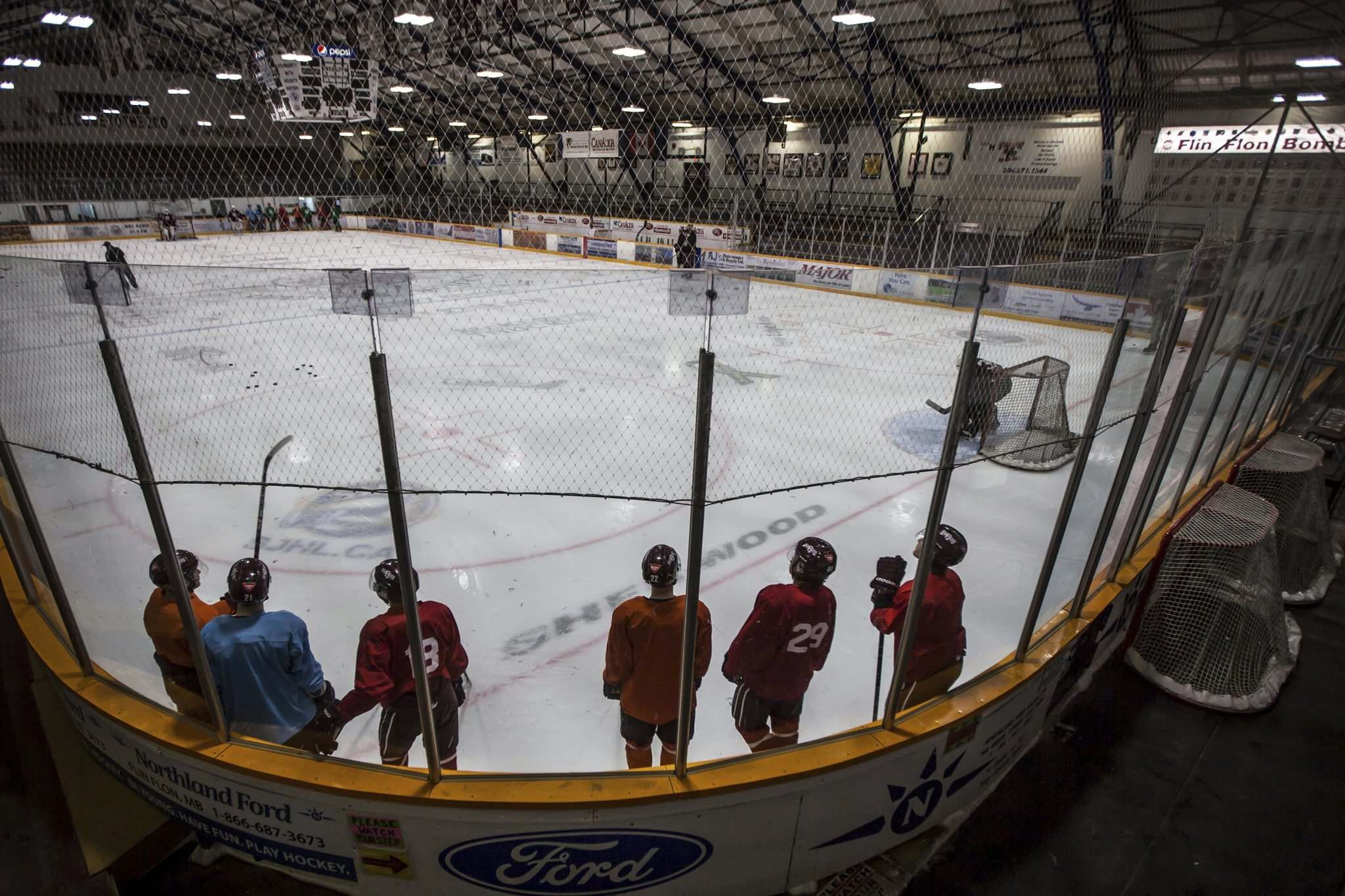 Located minutes from the Saskatchewan border, the Bombers, for practical purposes, have played in the SJHL by special agreement with Hockey Manitoba since 1984.