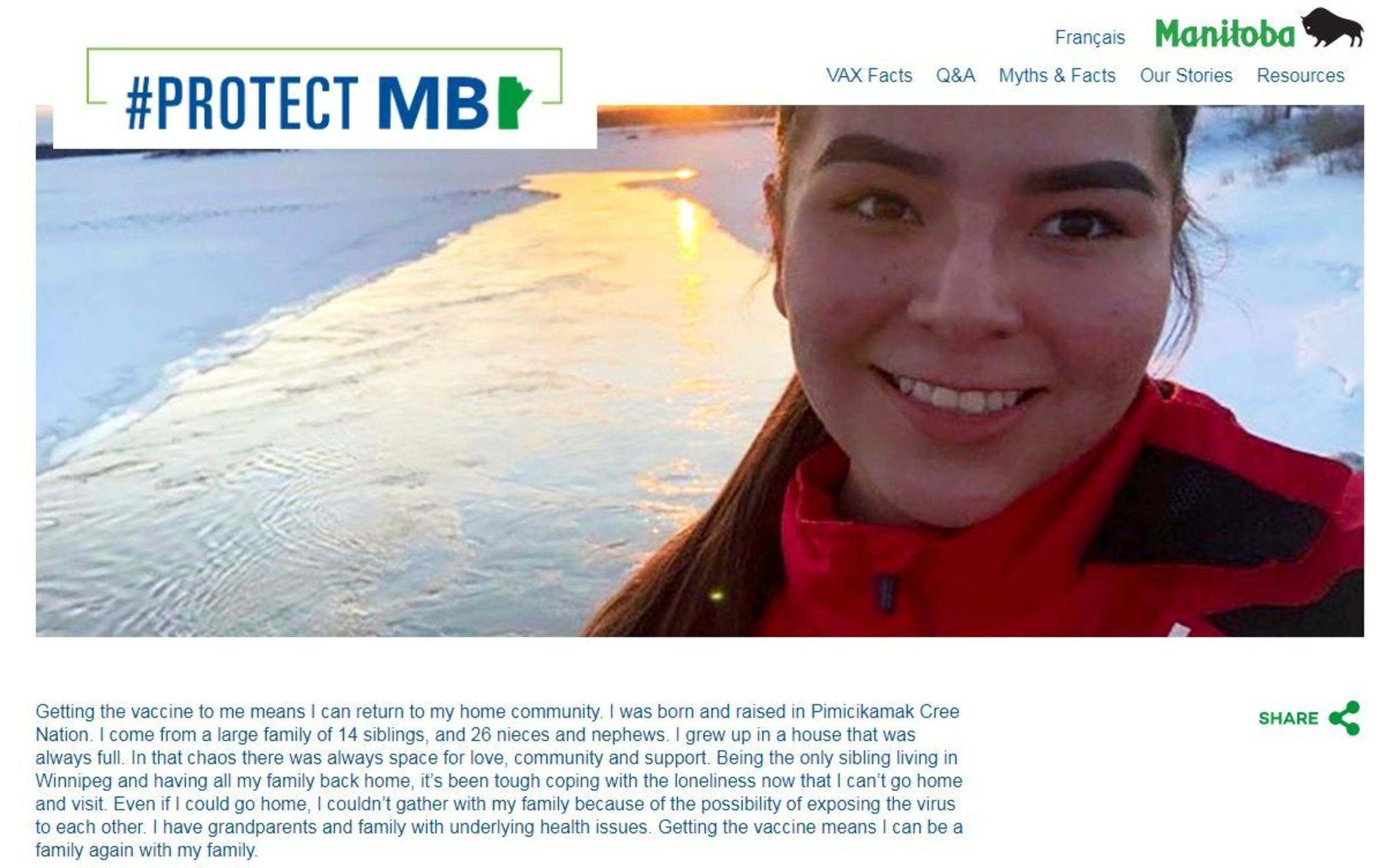 The #protectMB campaign is working to provide content designed by Indigenous partners that will resonate with their communities in different languages.