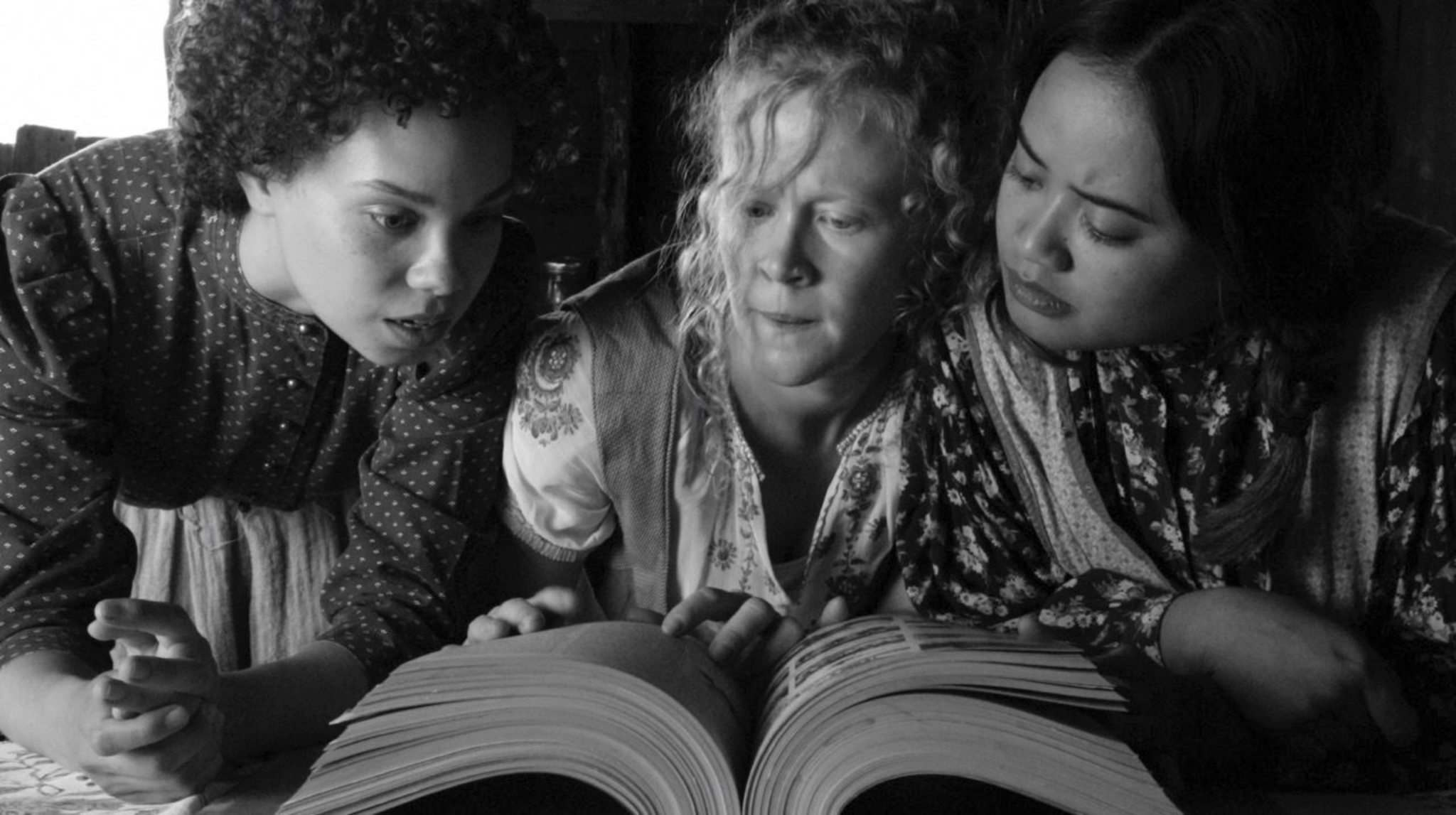 Supplied</p><p>From left: Melissa Langdon, Andrea del Campo and Hera Nalam are the three witches. </p>