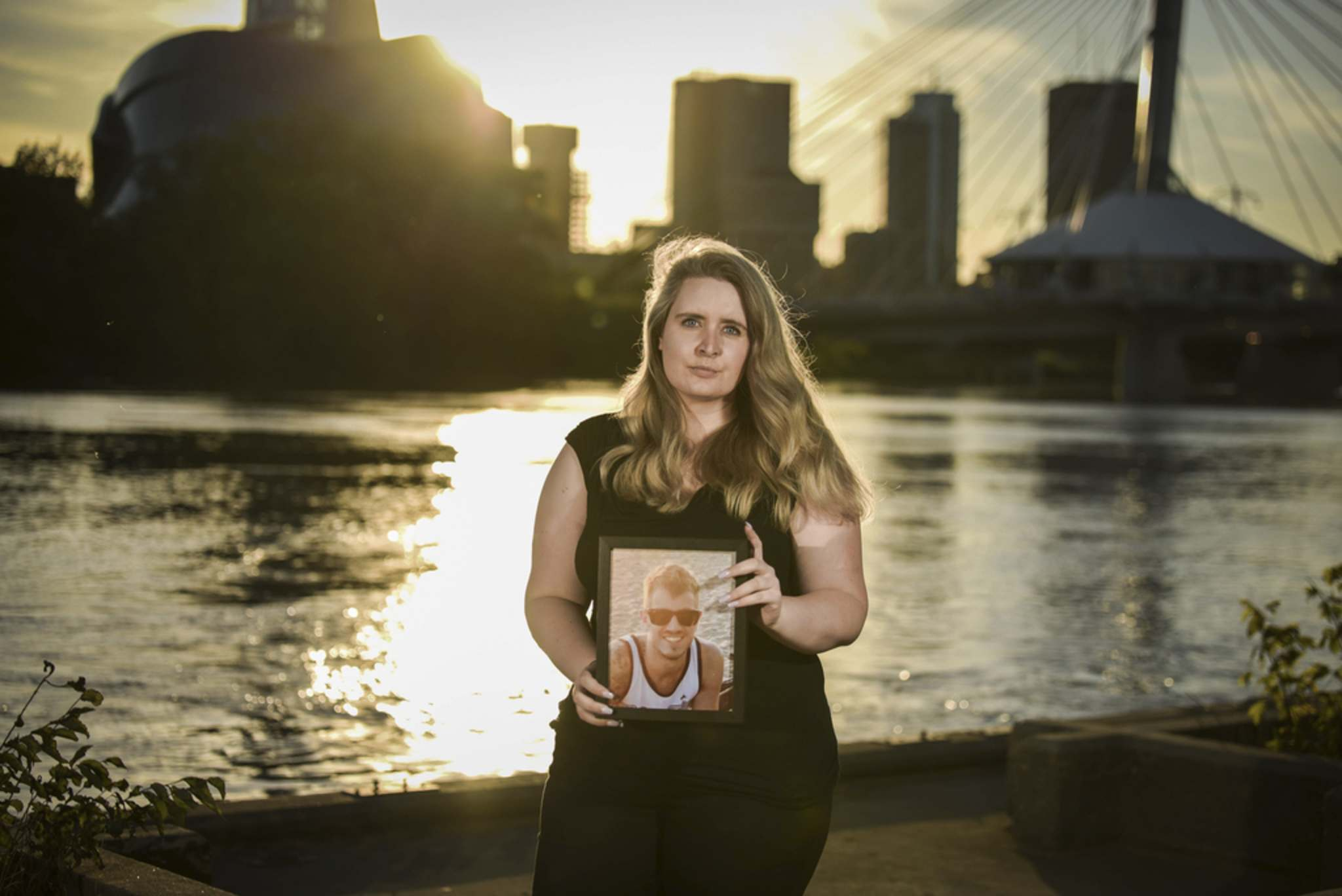 Rebecca Rummery lost her partner Rob to an accidental drug overdose in 2018. (Abby Matheson photo)</p>