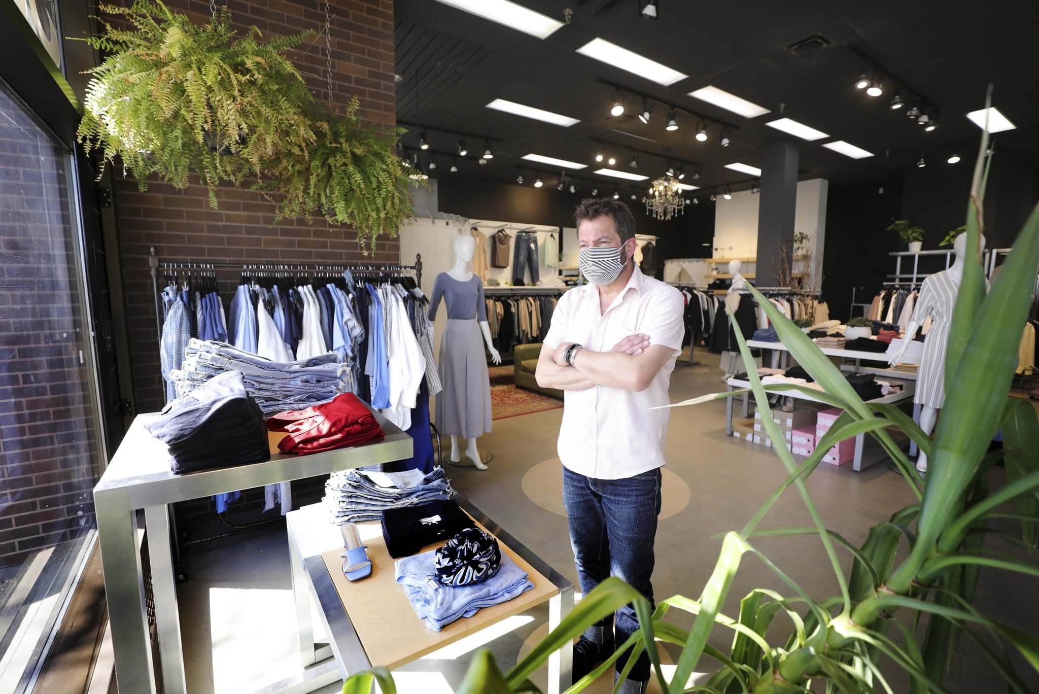 Clothier Aubrey Margolis, owner of Danali, said he believes the latest crackdown represents 'ridiculous restrictions which have no backing in data.' (Ruth Bonneville / Winnipeg Free Press)