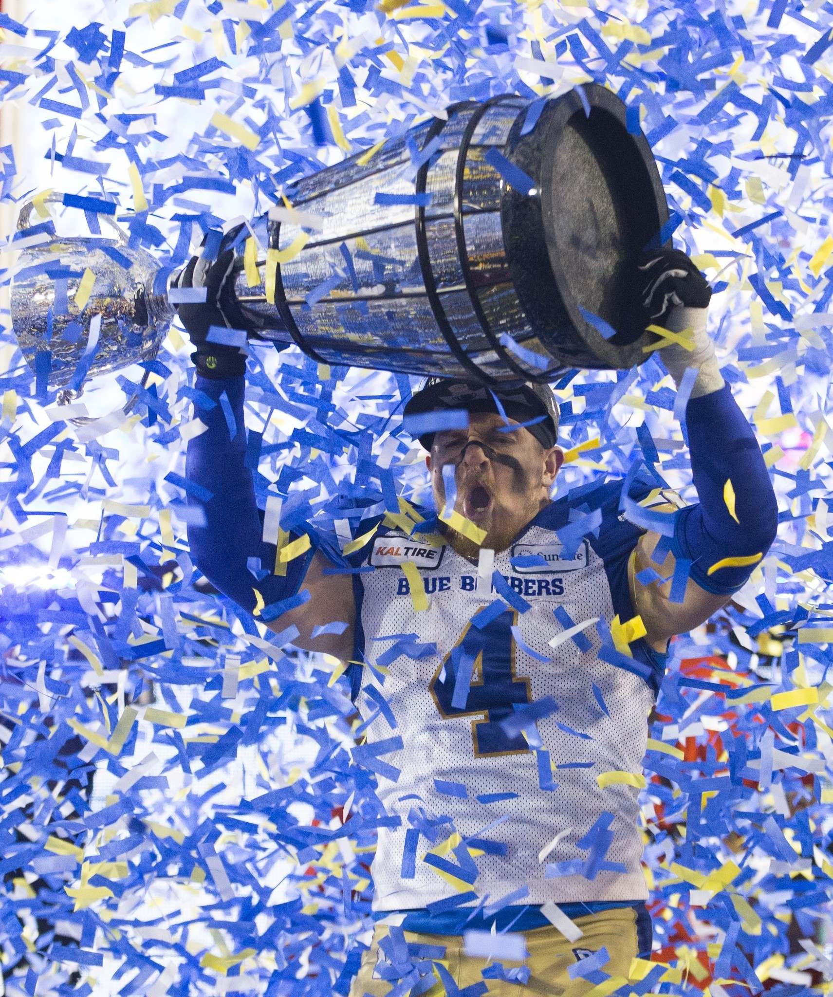 Miller said the Bombers won't be pulling out all the stops to celebrate the 2019 Grey Cup champion Bombers until a full crowd can take it in.