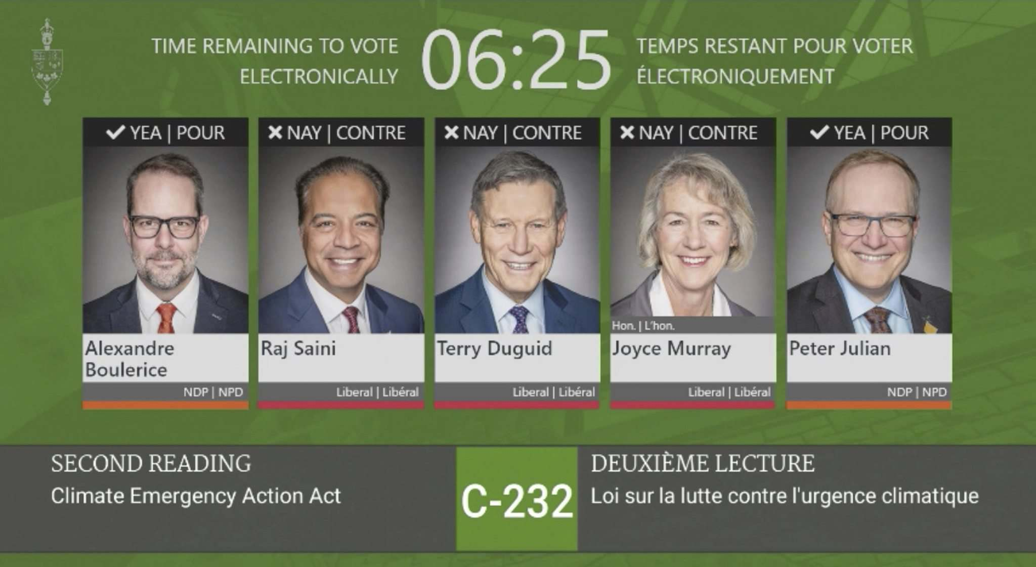The House of Commons' new voting app show how MPs sided on legislation as votes come in, instead of requiring each of them to appear on Zoom screen and voice their vote. That's in addition to each MP rising in the House, which fewer are doing due to COVID-19 restrictions.</p>