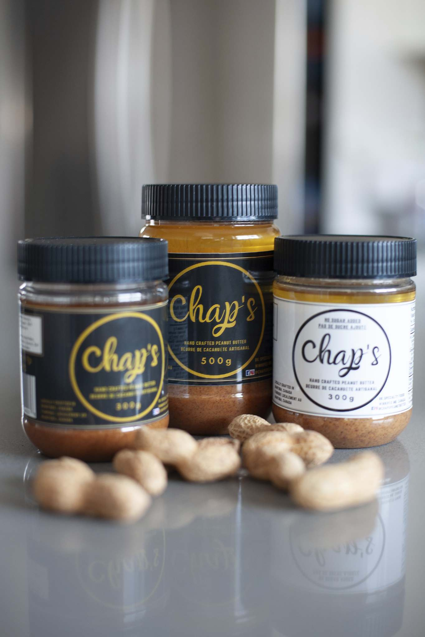 Chap's Hand Crafted Peanut Butter, which comes in sweetened and sugar-free varieties, is available in close to 20 stores around Winnipeg.</p>