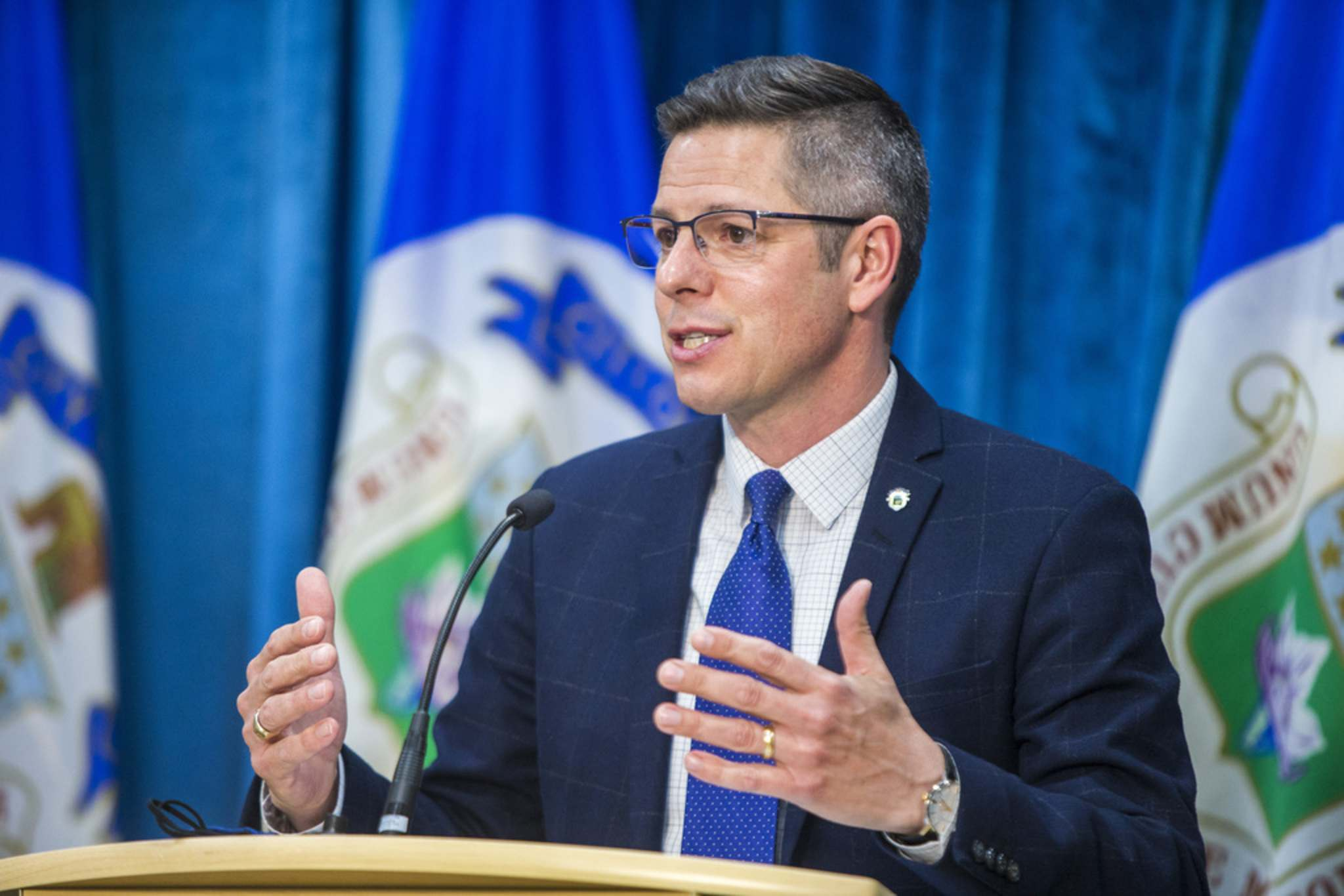 Winnipeg Mayor Brian Bowman championed the electornic voting system as a move to increase transparency and accountability.</p><p>(Mikaela MacKenzie / Winnipeg Free Press files)</p>