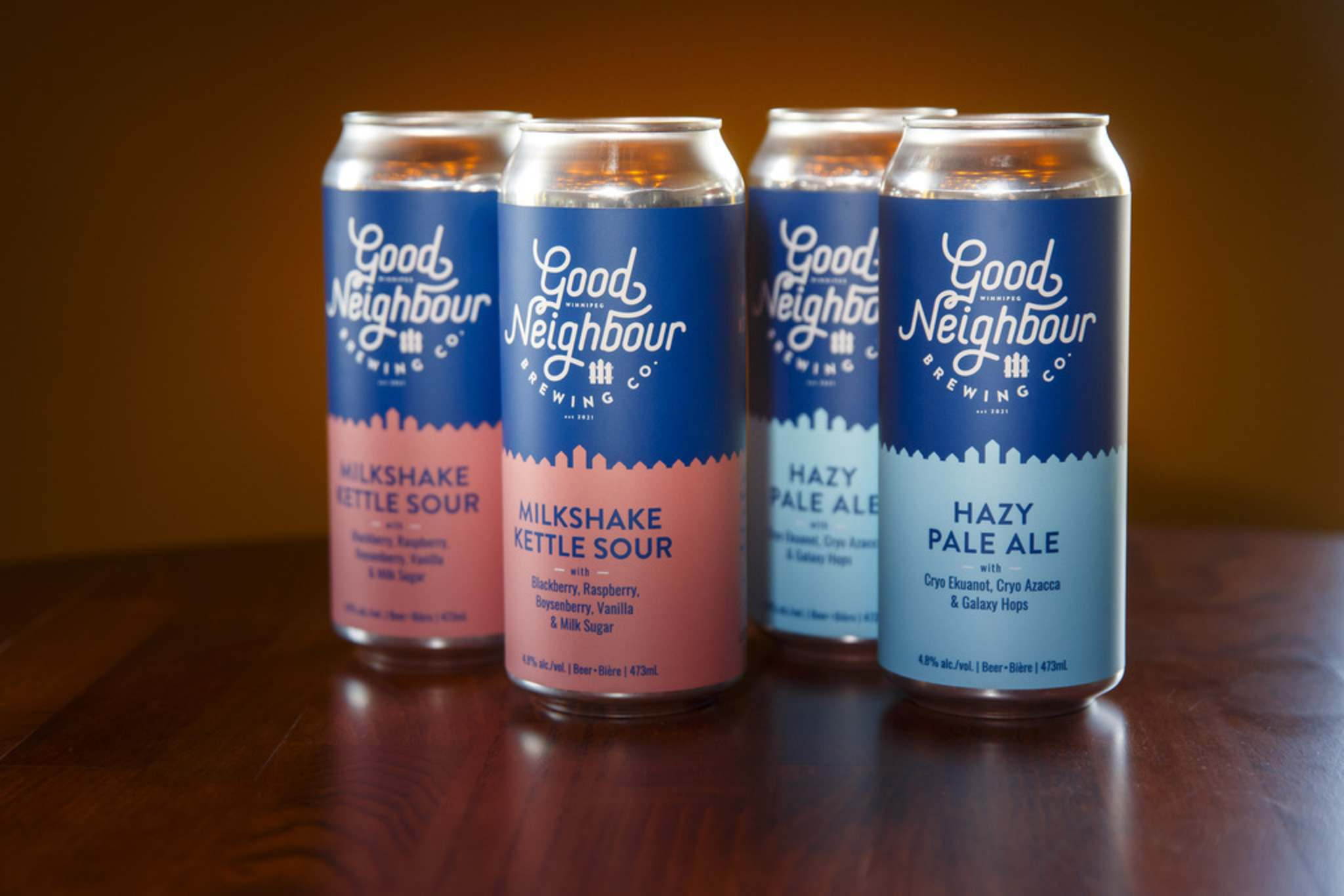 MIKE DEAL / WINNIPEG FREE PRESS</p><p>Good Neighbour Brewing is launching with two beers, Milkshake Kettle Sour and Hazy Pale Ale. </p>