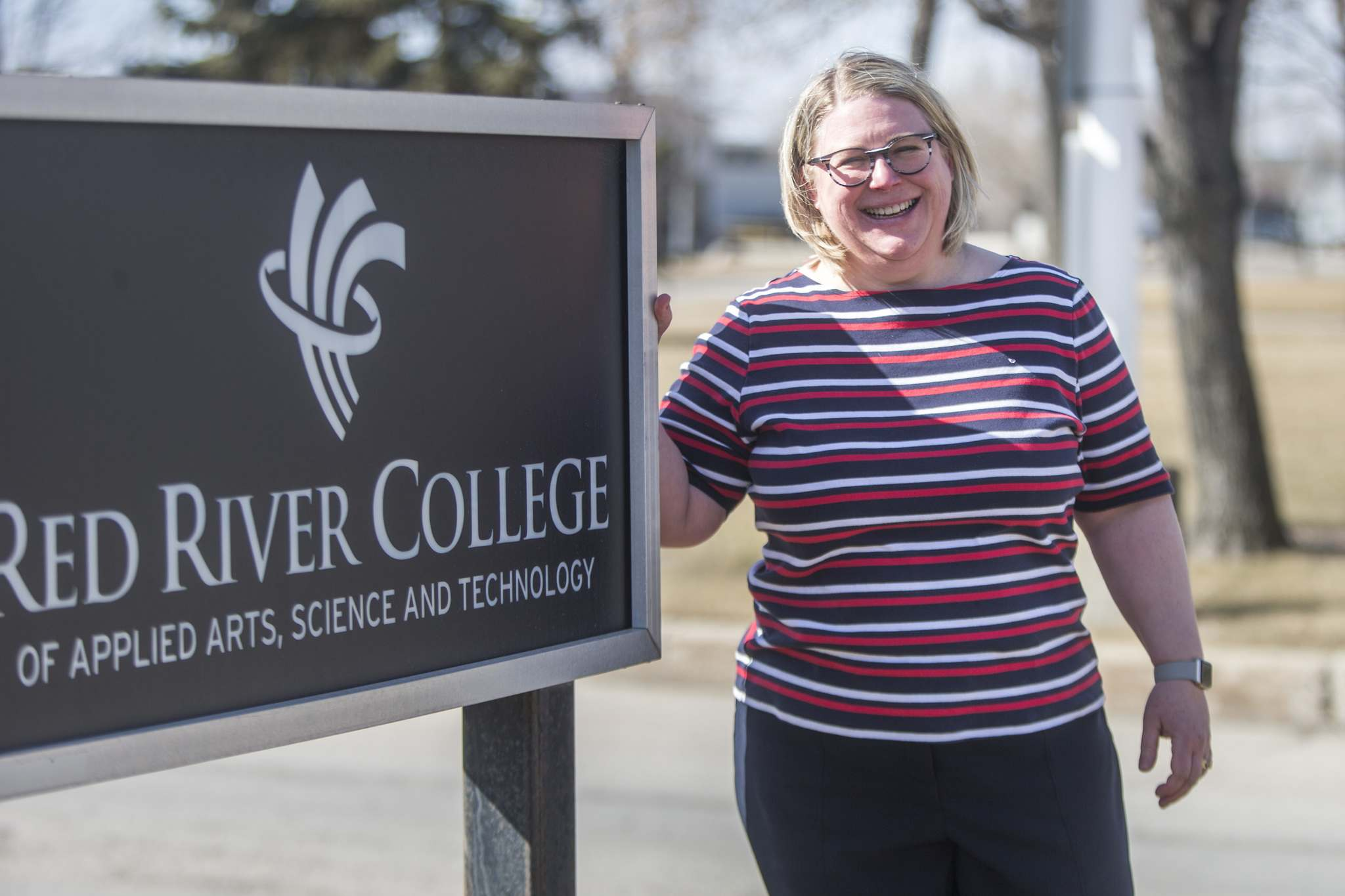 MIKAELA MACKENZIE / WINNIPEG FREE PRESS</p><p>Christine Watson, academic and research vice-president at Red River College, says the program will be highly beneficial for the Winnipeg post-secondary school.</p>