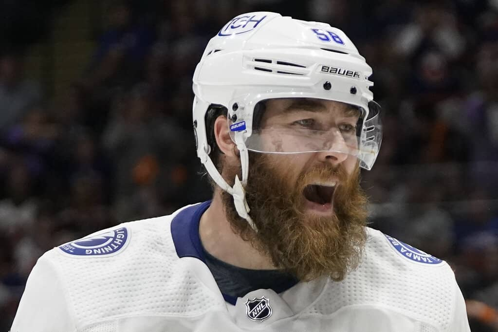 UFA defenceman David Savard is said to be open to the possibility of signing with a Canadian team. (AP Photo/Frank Franklin II)
