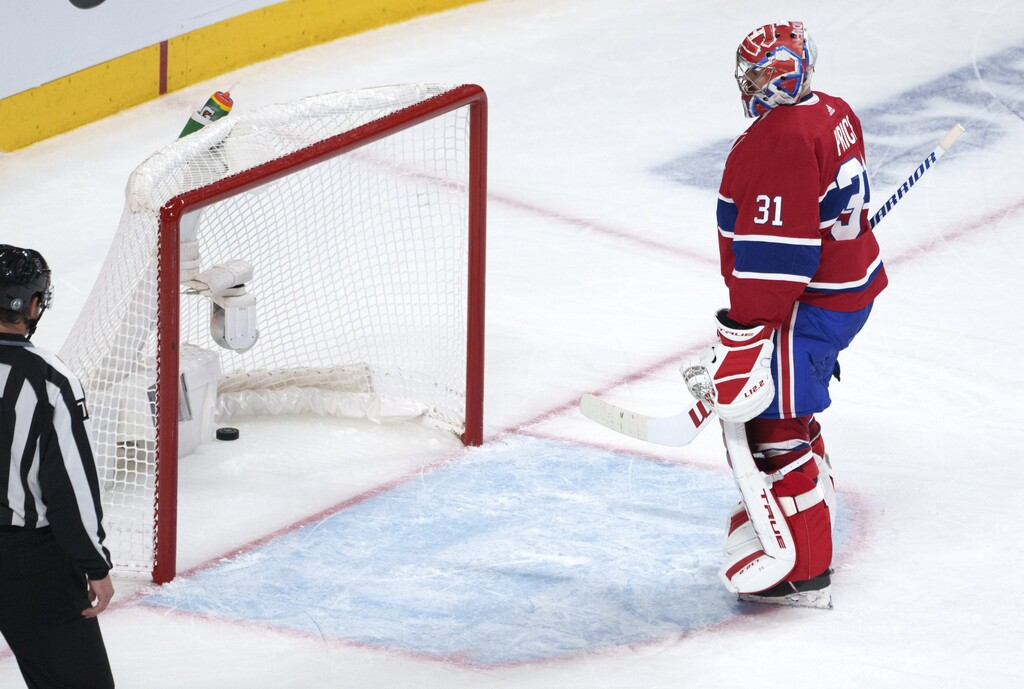 Carey Price was unbeatable in the first three rounds of the playoffs, but not this series. (Paul Chiasson / The Canadian Press)