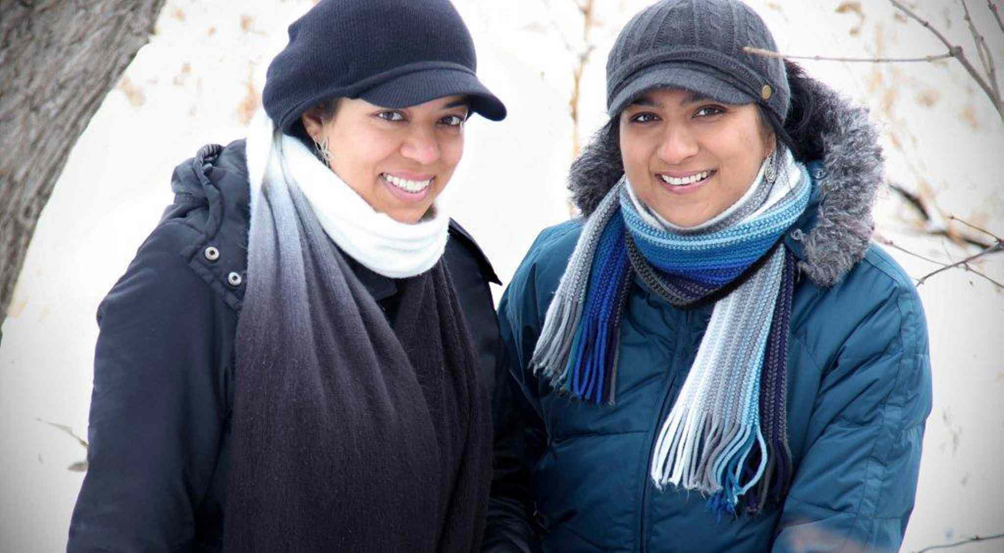 Winnipeg filmmakers Nilufer (left) and Saira Rahman just returned from Sweden and Norway, where they were guests of the Canadian embassies and invited to screen their documentary Arctic Mosque.