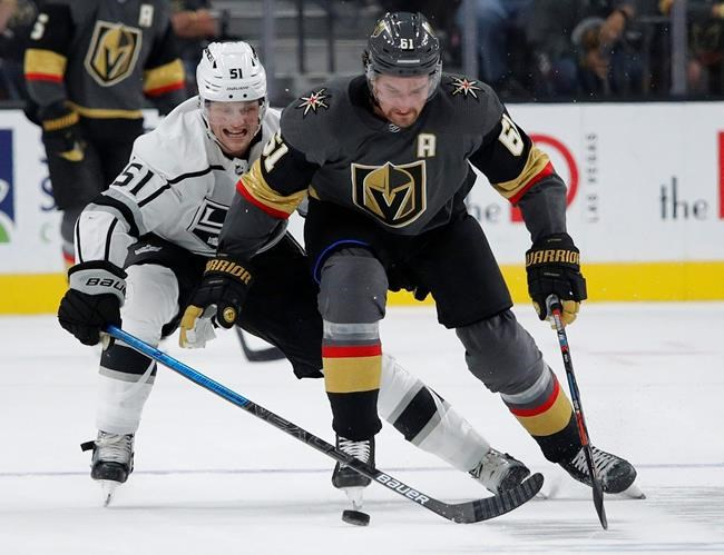 Vegas Golden Knights right wing Mark Stone.