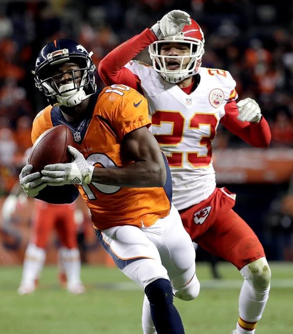 Sanders sees a return to 'wide receiver heaven' in Denver