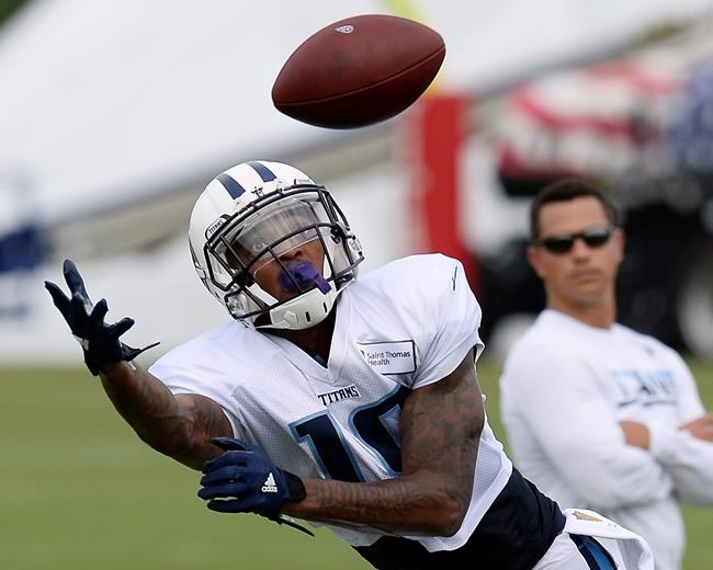 Titans receiver aggravates hamstring in return to practice