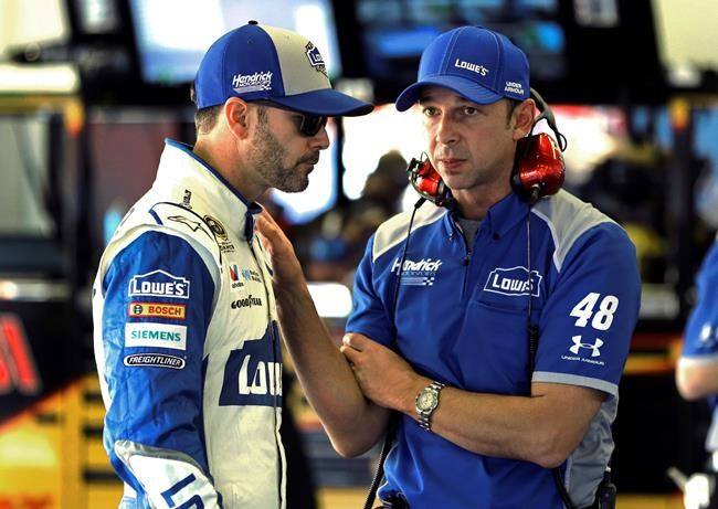 APNewsBreak: NASCAR's Knaus missing race notes after theft