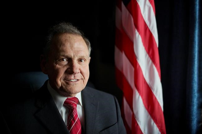 Senate race ahead for suspended Alabama chief justice Moore