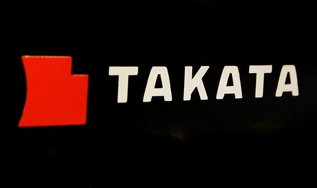 Four auto makers settle claims over Takata inflators for $553 million