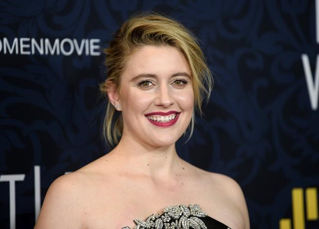 """Director Greta Gerwig attends the premiere of """"Little Women"""" at the Museum of Modern Art on Saturday, Dec. 7, 2019, in New York. (Photo by Evan Agostini/Invision/AP)"""