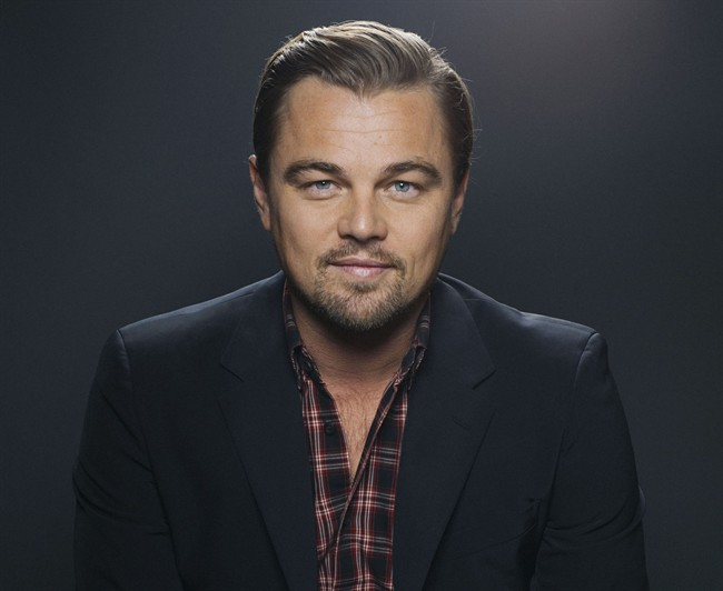 """FILE - In this Dec. 15, 2013 file photo, American actor Leonardo DiCaprio poses for a portrait, in New York. The United Nations has named Leonardo DiCaprio a UN Messenger of Peace with a special focus on climate change. UN Secretary-General Ban Ki-moon made the announcement Tuesday, Sept. 16, 2014, calling DiCaprio """"a credible voice in the environmental movement."""" He also invited the actor to the upcoming UN Climate Summit planned for September 23. (Photo by Victoria Will/Invision/AP, File)"""