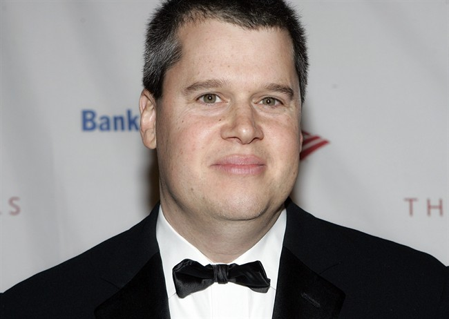 FILE - In this Oct. 10, 2006 file photo, Daniel Handler a.k.a. Lemony Snicket attends the Second Annual Quill Awards at the American Museum of Natural History in New York. (AP Photo/Stephen Chernin, File)