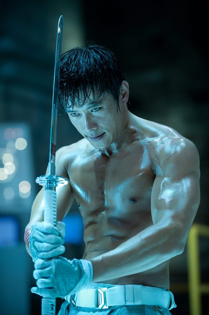 This film image released by Paramount Pictures shows Byung-Hun Lee in a scene from