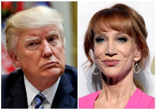 Kathy Griffin facing secret service probe over Trump head images