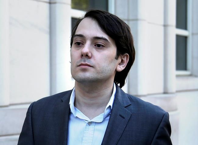 Former Turing Pharmaceuticals CEO Martin Shkreli (Seth Wenig / The Associated Press Files)
