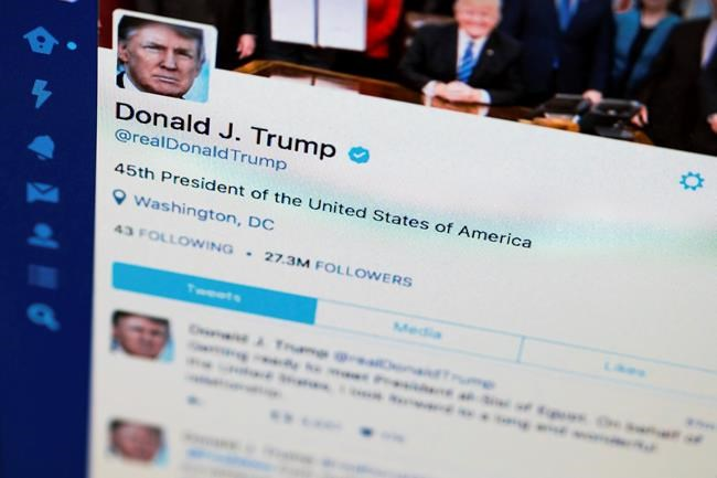 Twitter users blocked by Trump seek reprieve, citing First Amendment