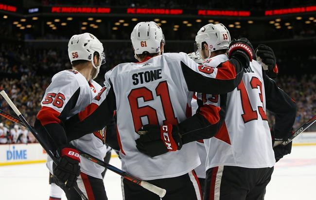The Jets seem to be eyeing Ottawa Senators right wing Mark Stone.