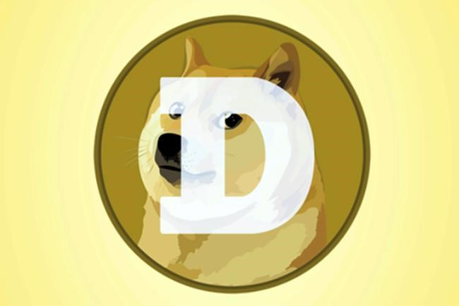 "This mobile phone app screen shot shows the logo for Dogecoin, in New York, Tuesday, April 20, 2021. Dogecoin, the digital currency advertised as the one ""favored by Shiba Inus worldwide,"" is having its day. Fans of the cryptocurrency are touting April 20, long an unofficial holiday for marijuana devotees, as ""Doge Day"" and imploring each other to get its value up to $1. (AP Photo/Richard Drew)"