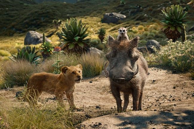 'The Lion King' bites off $185 million debut, a July record