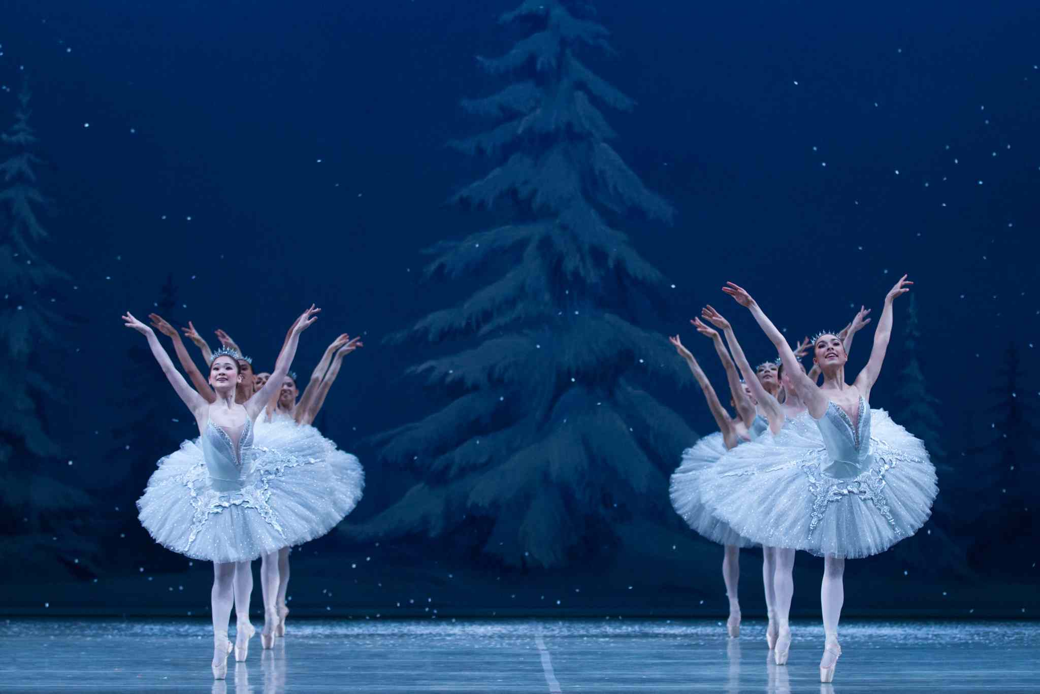 The Nutcracker runs through Monday.