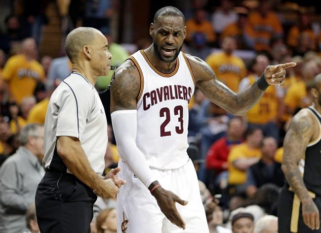 LeBron James passes Kareem Abdul-Jabbar on National Basketball Association career play-off points list