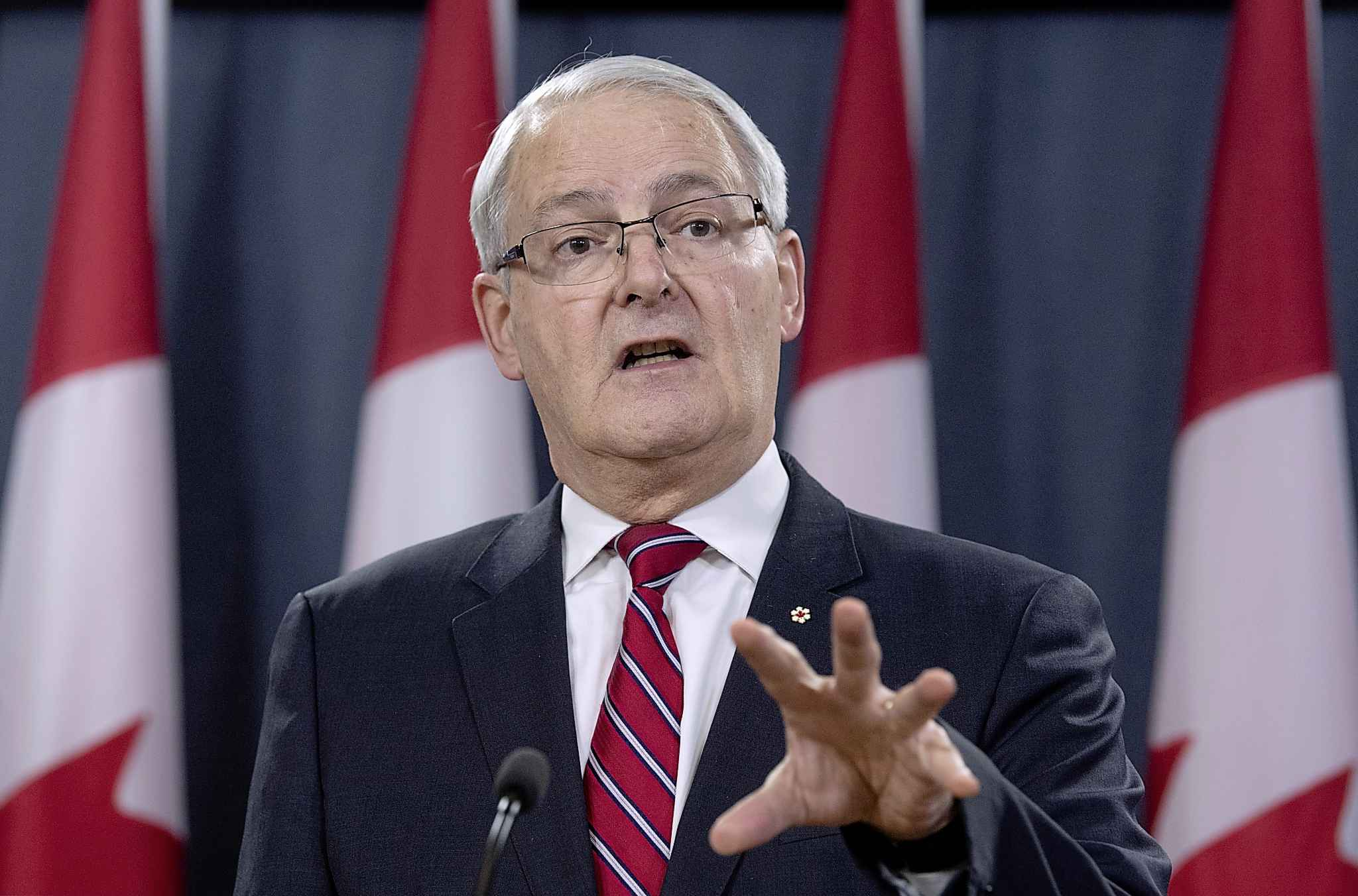 Canadian Minister of Transport Marc Garneau.