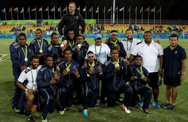 Fiji celebrates 1st-ever Olympic gold medal