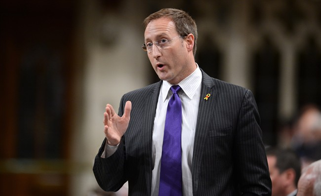 Minister of Defence Peter MacKay responds to a question during question period in the House of Commons on Parliament Hill in Ottawa on Tuesday, June 11, 2013. Declassified records show the defence minister quietly issued new instructions to Canada's electronic eavesdropping agency that detail how and when it can help CSIS and the RCMP investigate Canadians.THE CANADIAN PRESS/Sean Kilpatrick