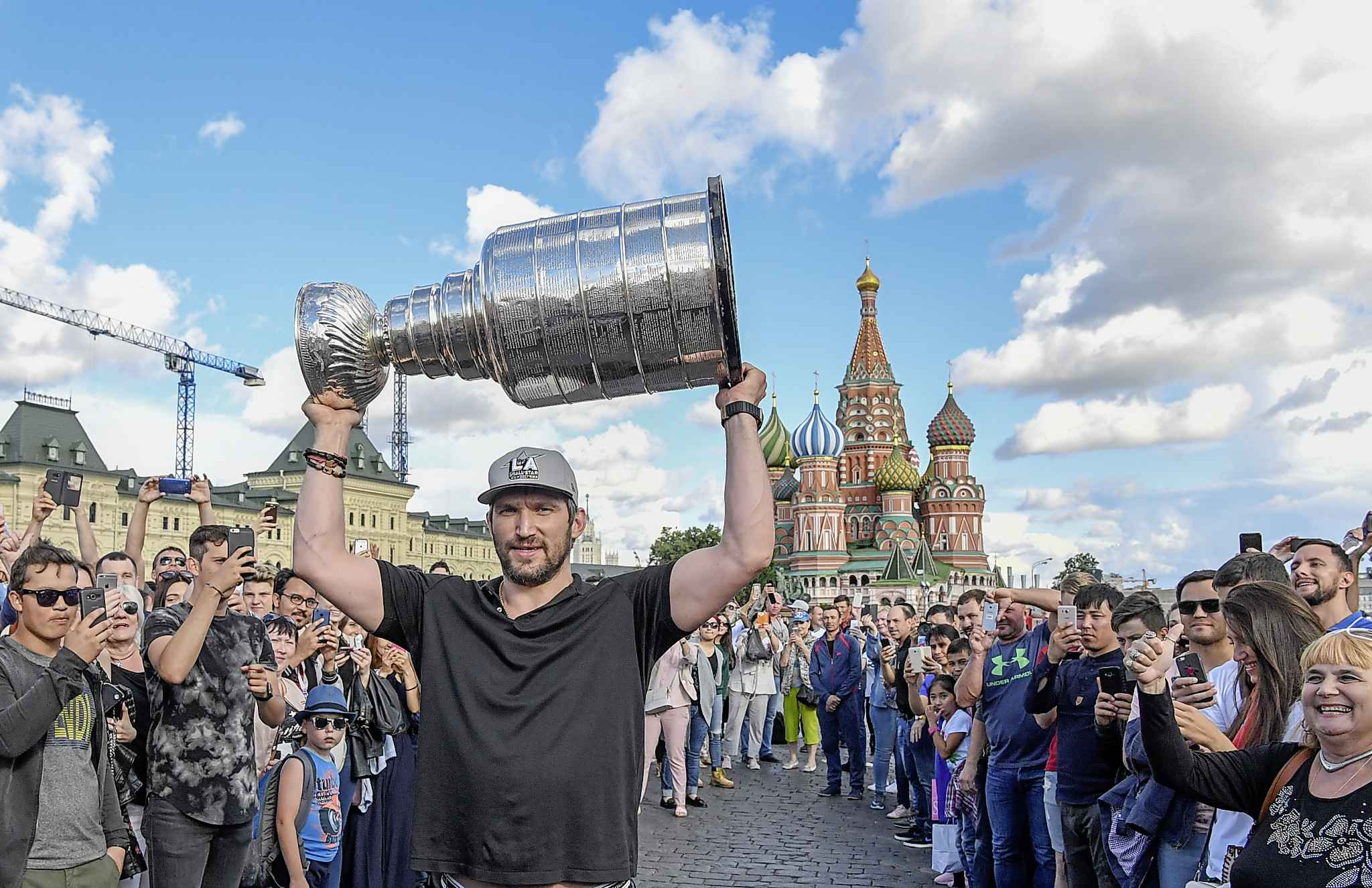 The Stanley Cup champions were built along their forward lines last season and their top-paid player was Alex Ovechkin. (Jonathan Newton / Washington Post file photo)