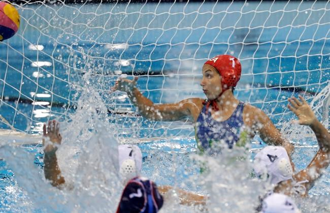Garibotti, Italy advance to women's water polo final